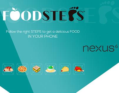 FOODSTEPS - UX & UI DESIGN