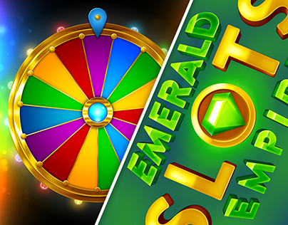 UI/UX/Animation - Emerald Empire Slots - Mobile Game