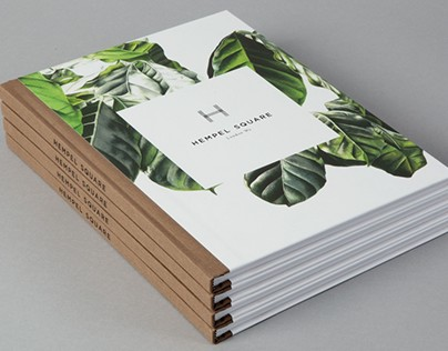 Coffea arabica branding for Hempel Square, London