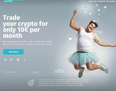 Regulated Crypto Exchange Company Branding Concept