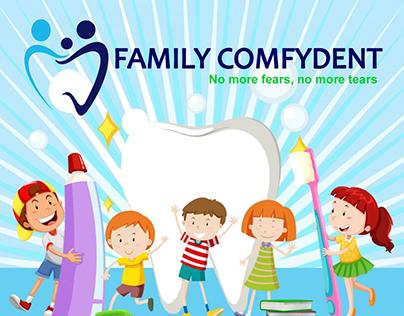 Family Comfydent Flyer Design