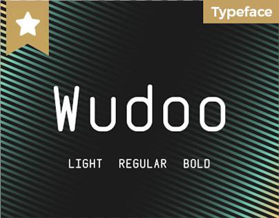 Wudoo - a monospaced typeface