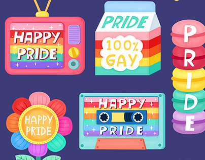 Snapchat Pride Stickers and Geofilters