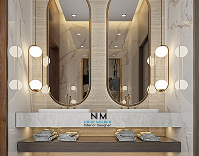 INTERIOR DESIGN FOR A MODERN BATHROOM