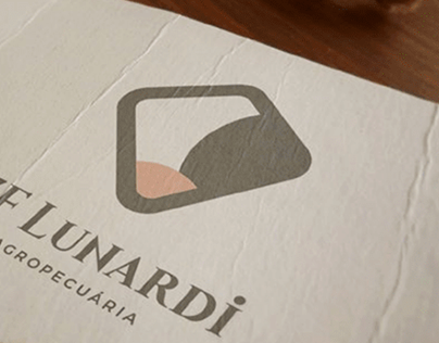 Logotipo 2 Agropecuária ZF Lunardi.