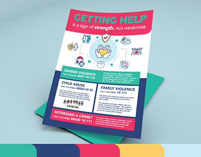 Getting Help Poster Design