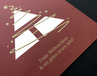 Weihnachtskarte für Steirerhaus Teubl & Teubl
