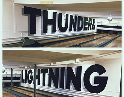Thunder & Lightning Wall Mural