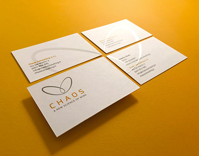 Chaos Consulting - logo, brand identity and website
