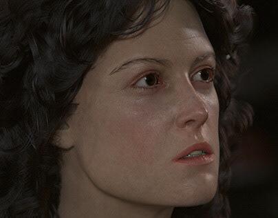 Lt. Ellen Louise Ripley from Alien (1979) - 3D