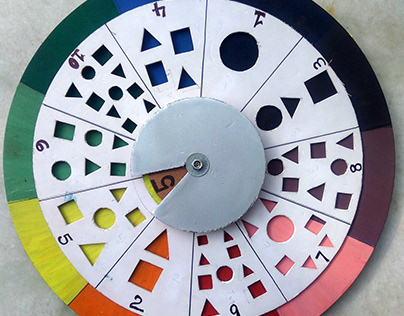 Spinning Wheel; Game for special needs.