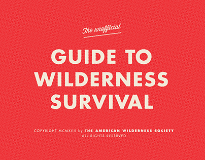 Guide to Wilderness Survival