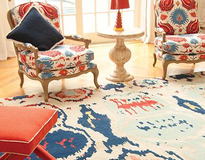 Interior Design    and     Custom Rugs
