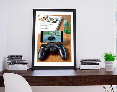 Sony Xperia image campaign