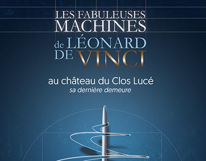 Les fabuleuses machines de Léonard de Vinci