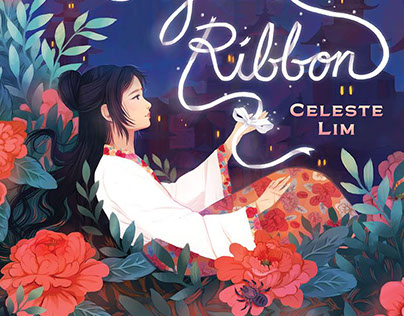 Book Cover and Wrap: The Crystal Ribbon