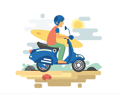 Indonesian Vespa Digital Contest
