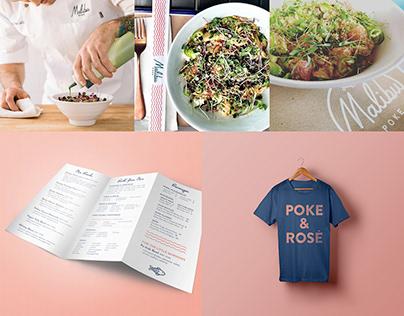Malibu Poke   Branding & Website Design