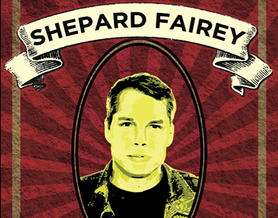 Typography - Shepard Fairey Project