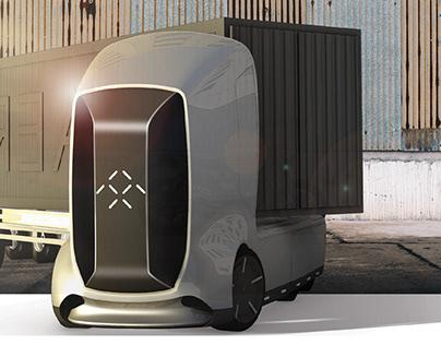 FARADAY FUTURE Autonomous Semi Truck