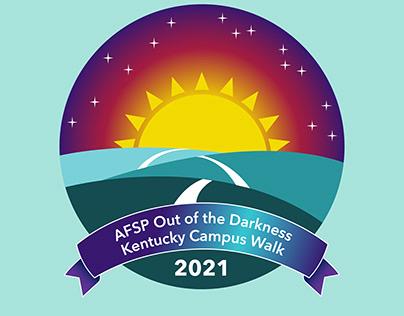AFSP Kentucky Campus Walk Logo (Feb. 2021)