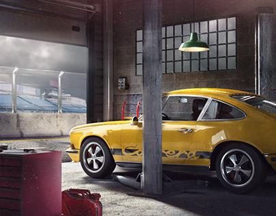 Porsche 911 Concept Art
