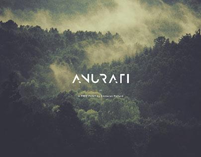 ANURATI: A free futuristic font