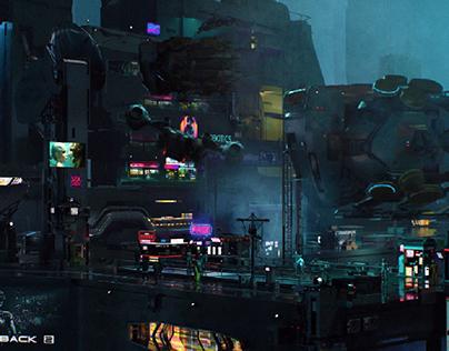 Cyberpunk location