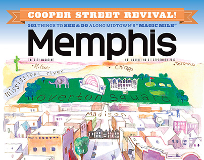 Memphis magazine Cooper-Young neighborhood feature