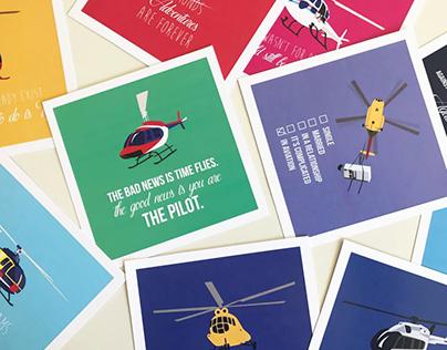 Helicopter Flight | Digital Illustration