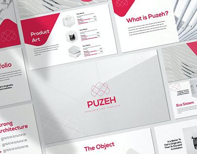 Puzeh - Minimal Presentation Template