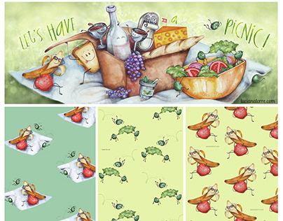 Art Licensing collection 5 Let's have a picnic!