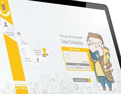 Scholarship Campaign Micro-site