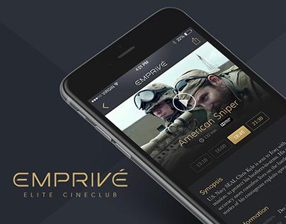 Emprivé — Mobile App