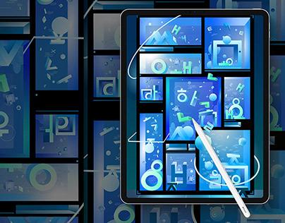 [작가들과 함께하는 튜토리얼] #3 Adobe Illustrator on iPad x PILO