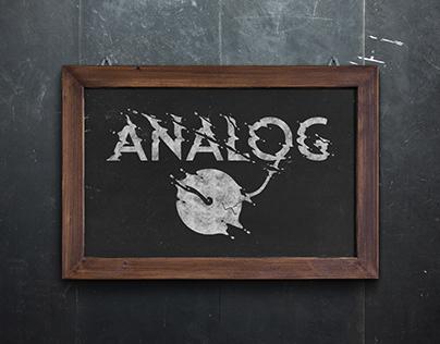 Logo adjustment for Analog Café
