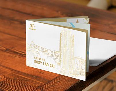 Thiết kế Brochure dự án Bất động sản KĐT Kosy Lào Cai