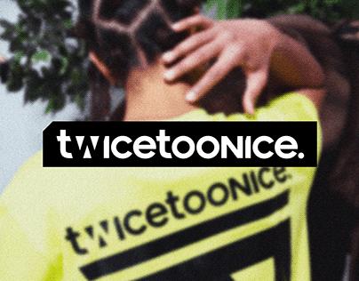 Twice Too Nice   Streetwear Logo Design
