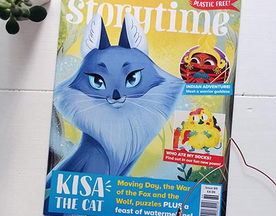 Storytime Magazine: Kisa the Cat