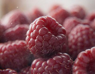 CGI/3D Raspberries