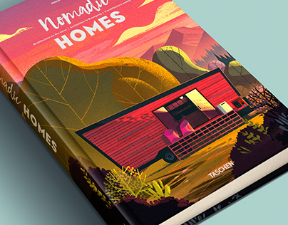 Nomadic Homes Illustrations