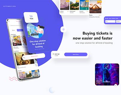 Booktic App Design