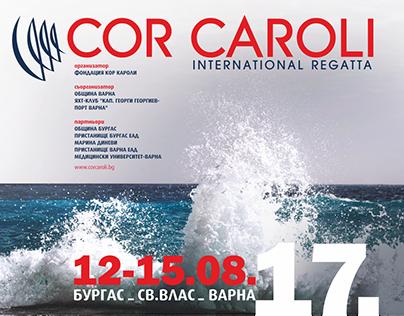 Graphic Identity - Regatta Cor Caroli 2017