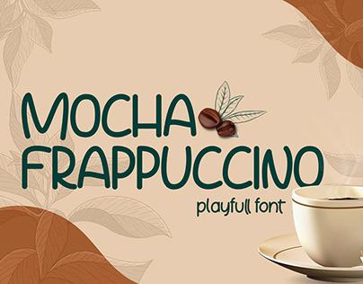 Free Mocha Frappuccino Playfull Font