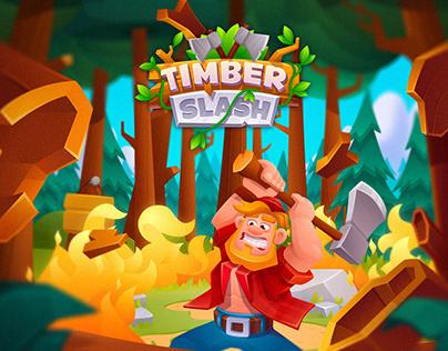 Timber Slash Game Art