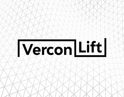 Logotipo Vercon Lift - Engenharia Mecânica