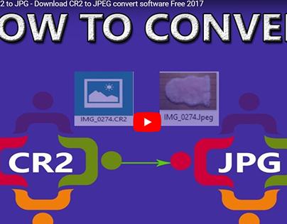 Convert Cr2 to Jpeg