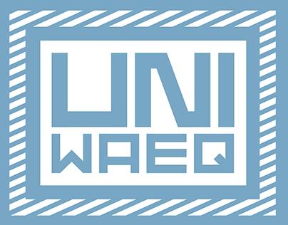 UNIWAEQ - Visual identity