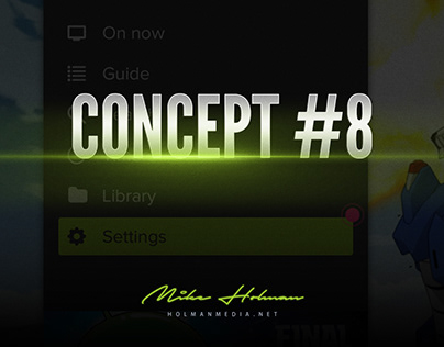 #8 Concept UI for connected TV / STB