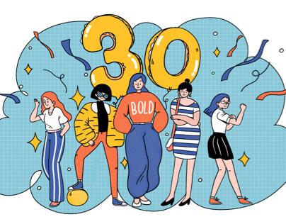 Illustration for eMagazine